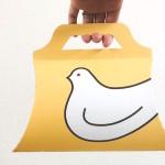 鳩サブレーのパッケージ