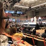 ボクシング観戦に行ってきました