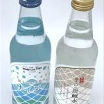 サイダーと炭酸水のデザイン