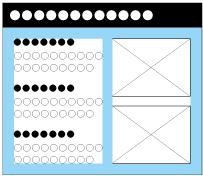 囲み枠の余白の取り方